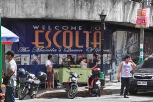 A tarpaulin campaign for the revival of Escolta (Source: Dr. Tessa Maria Guazon)