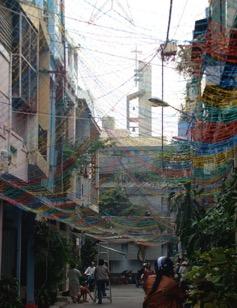 The catholic identity of the neighborhood (Source: Dr. Marie Gibert)