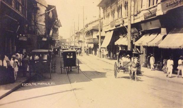 Escolta Manila - circa 1910 (Retro Pilipino, Manila Nostalgia)