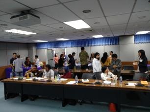The workshop at RMUTP in Bangkok (July 2018)