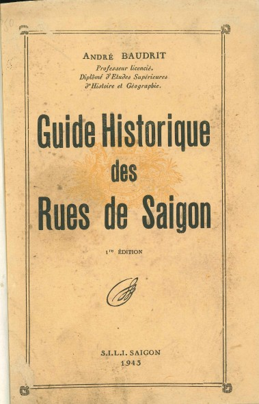 Baudrit_1943_GuideHistorique_Cover